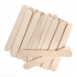 Špachtle dřevěné přírodní 11,4x1x0,2 cm 50 kusů