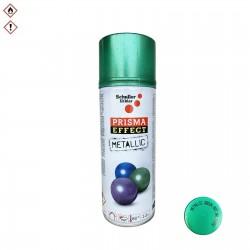 Barva ve spreji zelená metalická Prisma effect 400ml Schuller