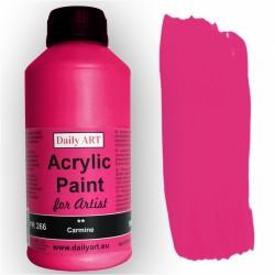 Akrylová umělecká barva Karmínová 500 ml Daily ART