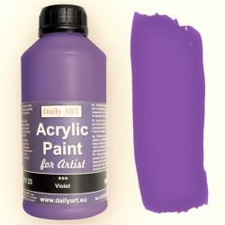 Akrylová umělecká barva Fialová 500 ml Daily ART