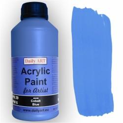 Akrylová umělecká barva Kobaltová modř 500 ml Daily ART