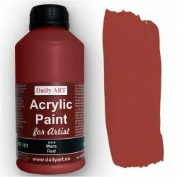 Akrylová umělecká barva Marsova červená 500 ml Daily ART