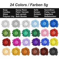 Perleťové pigmenty 24 x 5g Daily ART