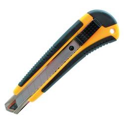 Nůž ořezávací plastový s kovovou lištou 18 mm