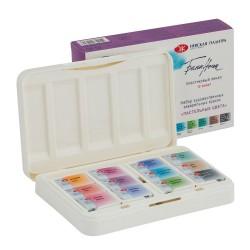 Akvarelové umělecké barvy 12 kusů pastelové odstíny White Nights Nevskaya Palitra limitovaná edice