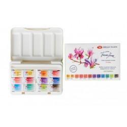 Akvarelové umělecké barvy 12 kusů Botanica White Nights Nevskaya Palitra limitovaná edice