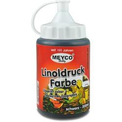 Barva na linoryt černá 200 ml