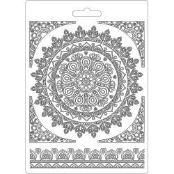 Forma plastová nízká Mandala A5 Stamperia