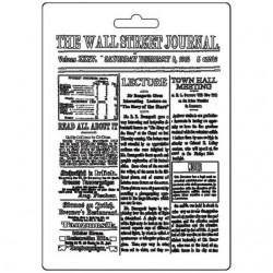 Forma plastová nízká The Wall Street  Journal A5 Stamperia