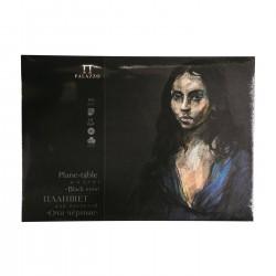 Blok na pastel A3 160g/m² 40% bavlna 18 listů černé papíry Black eyes Palazzo