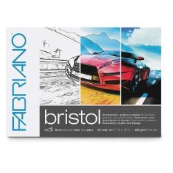 Blok multifunkční A3 20 listů 250g/m² Bristol Fabriano