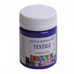 Barva na textil, Ultramarínová, Decola, 50 ml