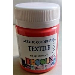 Barva na textil, Korálová, Decola, 50 ml