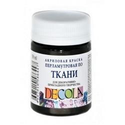 Barva na textil Decola, 50 ml, černá