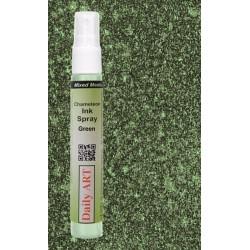 Inkoustový sprej, Zelená měňavá, 30 ml, DailyART