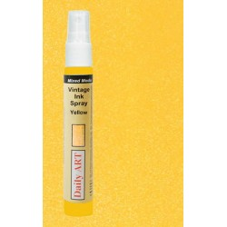 Vintage Inkoustový sprej, žlutá, 30 ml, DailyART