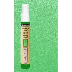 Barva na textil Vintage, Zelená jarní, 30ml, DailyART