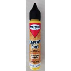 Voskové pero, Žlutá, 25ml, Meyco