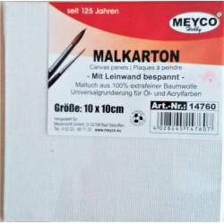 Plátno na kartonu, 10 x 10 cm, Meyco