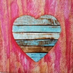 Ubrousek, Dřevěné srdce