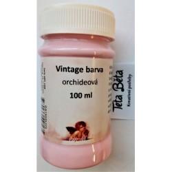 Barva Vintage, křídová, orchideová, 100 ml