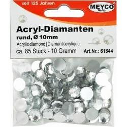 Akrylové diamanty, 10mm