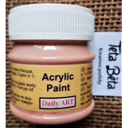 Akrylová barva matná, meruňková, 50 ml
