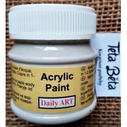 Akrylová barva matná, francouzská šedá, 50 ml