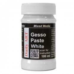 Gesso pasta bílá, 100 ml