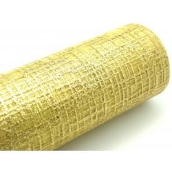 Organza, zlatá, 48 cm 4,5m