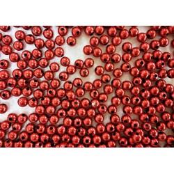 Plastové korálky, dekorační perly, 6 mm