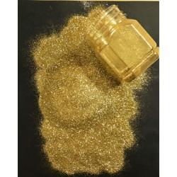 Glitry zlaté, jemné, 115g