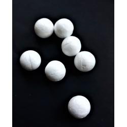 Koule polystyrenová, průměr 1,5 cm