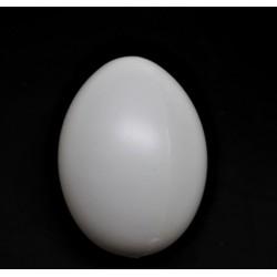 Plastové vajíčko, výška 60  x 45 mm