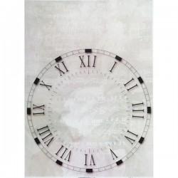 Rýžový papír A4 hodiny bez ručiček, noty 21x29,7 cm