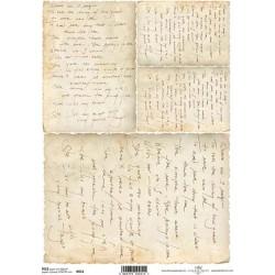 Rýžový papír Staré písmo