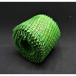 Juta stuha, jarní zelená, 4 cm x 3 m