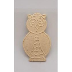 Keramické omalovánky, sova, magnetka, 6 x 3,5 cm