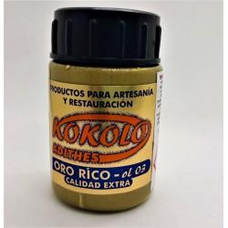 Tekuté zlato, odstín 03 Bohaté zlato, Oro rico, 40ml