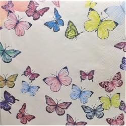 Ubrousek, Motýlci, 33x 33 cm