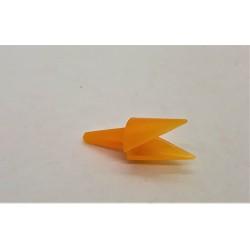 Zobák, plastový, na zapíchnutí, 1,5 x 3 cm