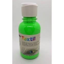 Barva na textil, Zelená, Fluorescenční, 125 ml
