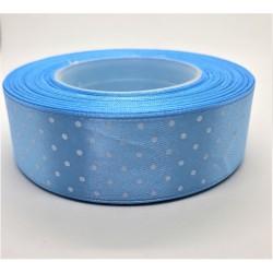 Stuha saténová světle modrá šířka 2,5 cm