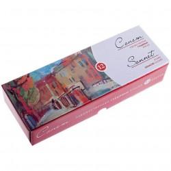 Sada kvašových temperových barev Sonnet 12 x 40 ml