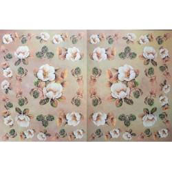 Dekupážní papír Šípková růže 33 x 48 cm