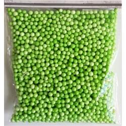 Polystyrenové kuličky zelené 4-6 mm 8 g