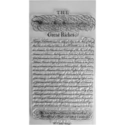 Gelová razítka písmo