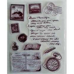 Gelová razítka poštovní známky