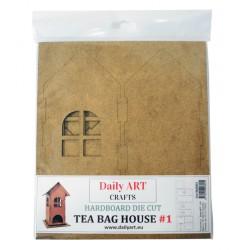 Domeček na čajové sáčky 23 cm x 9 cm