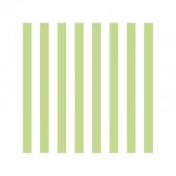 Ubrousek Zelenkavé pruhy